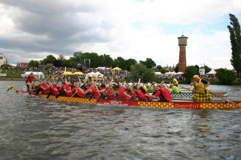 Drachenboot der Römer Dragons Ladenburg
