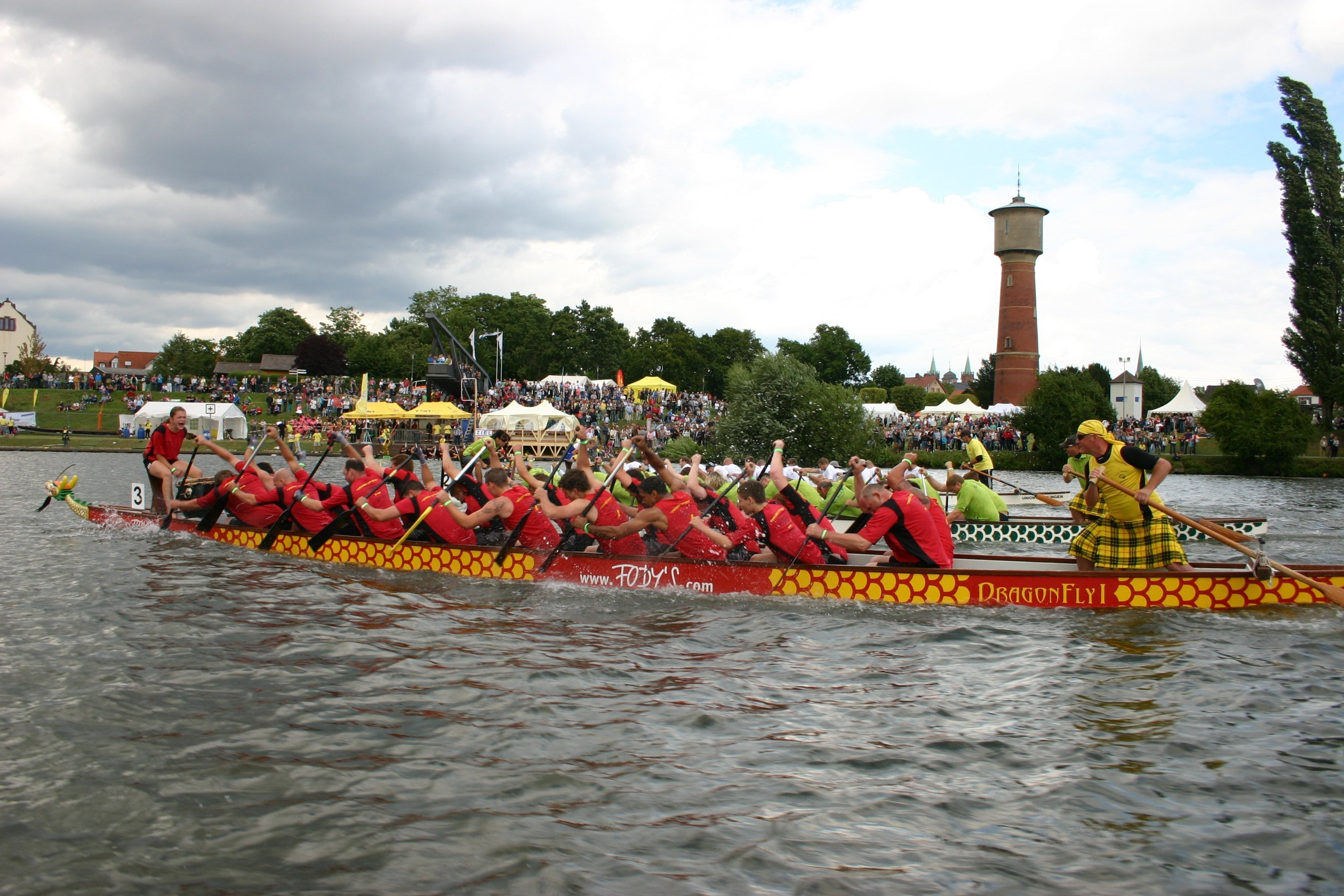 Drachenboot der Römer Dragons Ladenburg