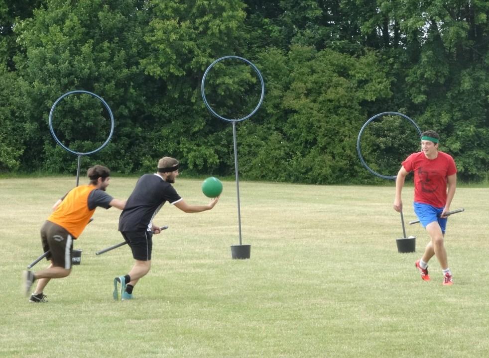 Quidditch - im Heidelberger Unisport sehr beliebt