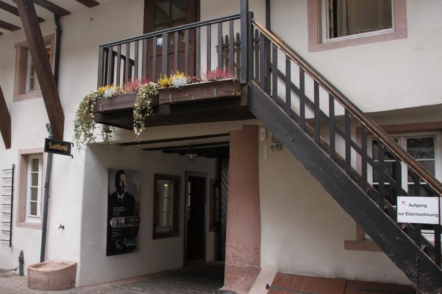Das Friedrich-Ebert-Haus in Heidelberg